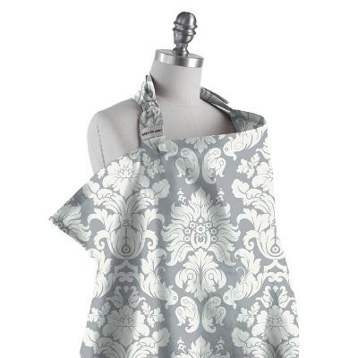 Bébé au Lait Nursing Cover - Chateau Silver