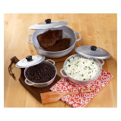 Imusa Caldero 3pc Cookware Set