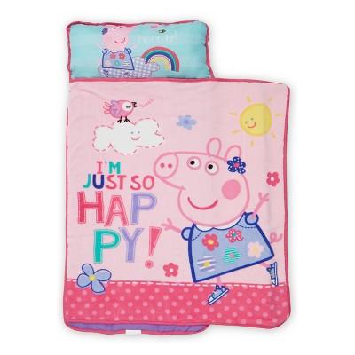 Peppa Pig Toddler Nap Mat Pink