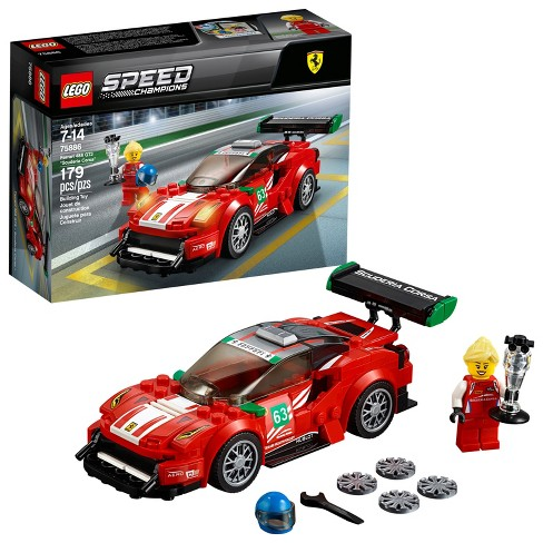 lego speed champions ferrari 488 gt3 scuderia corsa 75886 target. Black Bedroom Furniture Sets. Home Design Ideas