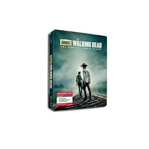 The Walking Dead Season 4 (Steelbook)(Blu-ray) - Only at Target - image 1 of 2