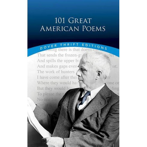 101 Great American Poems - (Dover Thrift Editions) (Paperback) - image 1 of 1