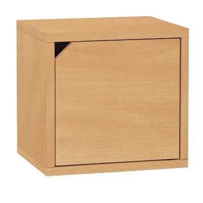 Way Basics Eco Stackable Connect Door Cube Modular Cubby Organizer Storage System - Lifetime Guarantee
