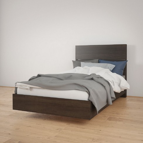 T Platform Bed and Headboard - Nexera - image 1 of 3