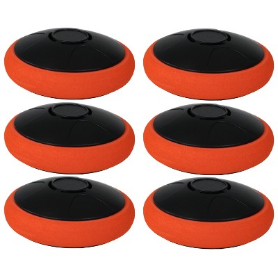 Tabletop E-Hockey Electronic Rechargeable Puck 2??? - 6-Pack - Sunnydaze Decor