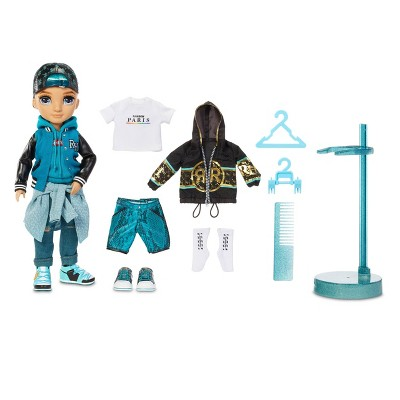 Rainbow HighRiver Kendall – Teal BoyFashion Dollwith 2 Complete Mix & Match Outfits and Accessories