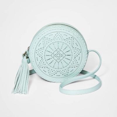 Girls' Circle Crossbody Bag - art class™ Green