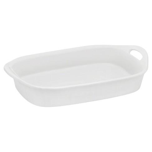 CorningWare 3qt Oblong Bakeware White - image 1 of 4
