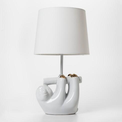 Sloth Table Lamp - Pillowfort™ - image 1 of 3