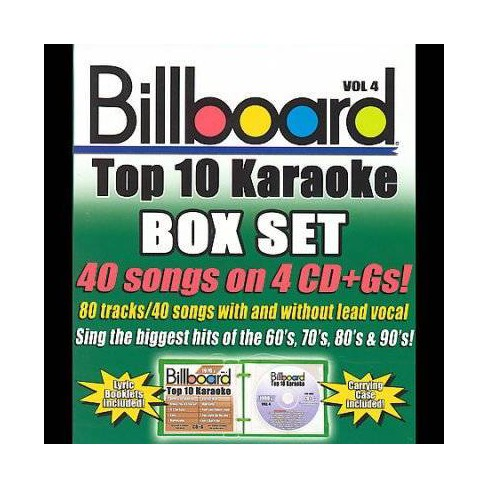 Sybersound - Billboard Top 10 Karaoke Box Set Vol 4 (CD)