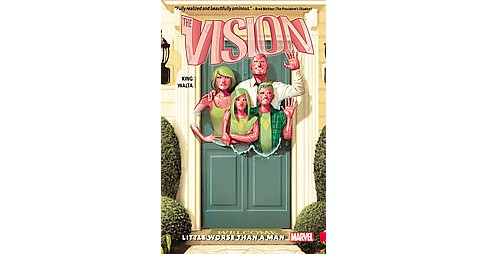 Vision 1 : Little Worse Than a Man (Paperback) (Tom King) - image 1 of 1