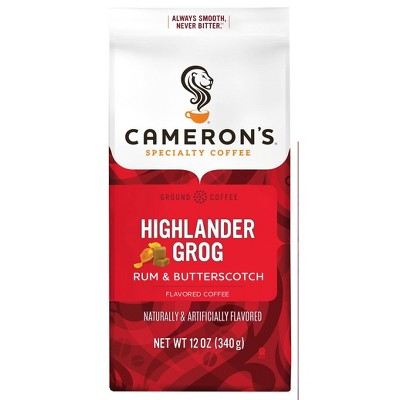 Cameron's Coffee Highlander Grog Light Roast Ground Coffee - 12oz