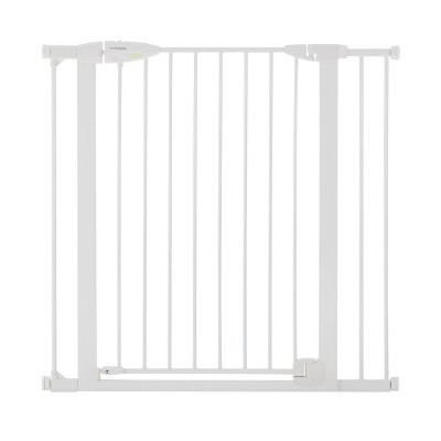 "Toddleroo by North States Tall Bright Choice Auto-Close Baby Gate - White -  29.75""-40.5"" Wide"