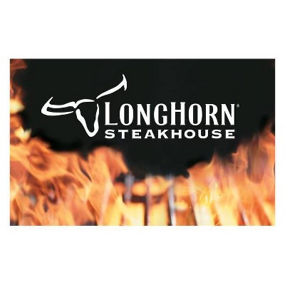 LongHorn Steakhouse $25 (Email Delivery)