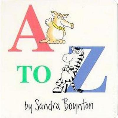 A-To-Z by Sandra Boynton (Board Book)