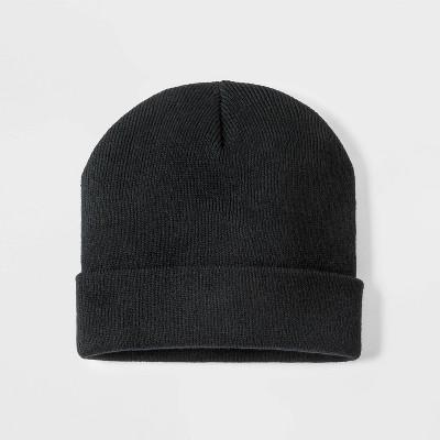 Baby Boys' Winter Hat - Cat & Jack™ Black 12-24M