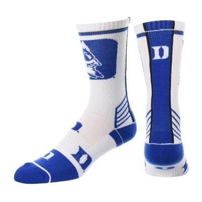 NCAA Duke Blue Devils Men's Tailgate Crew Socks 10-13