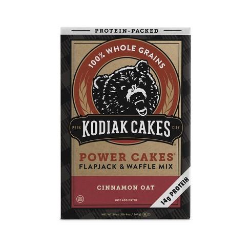 Kodiak Cakes Cinnamon Oat Flapjack & Waffle Mix - 20oz - image 1 of 4