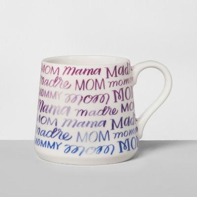 Porcelain Mom Mommy Madre Mug 16oz White/Purple - Threshold™