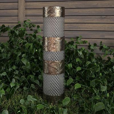 """Cosco 24"""" Steel Outdoor Garden Light Column"""