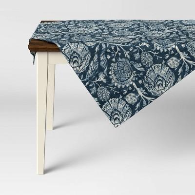 """50"""" Cotton Jacobean Table Throw - Threshold™"""