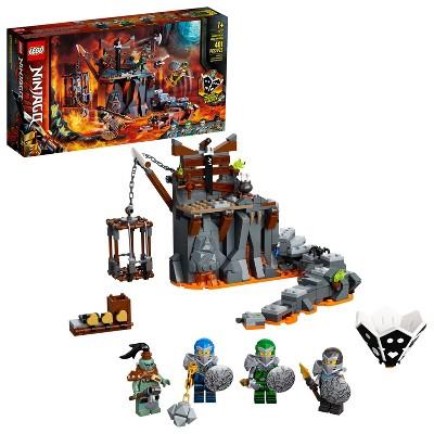LEGO NINJAGO Journey to the Skull Dungeons Ninja Playset Building Toy 71717