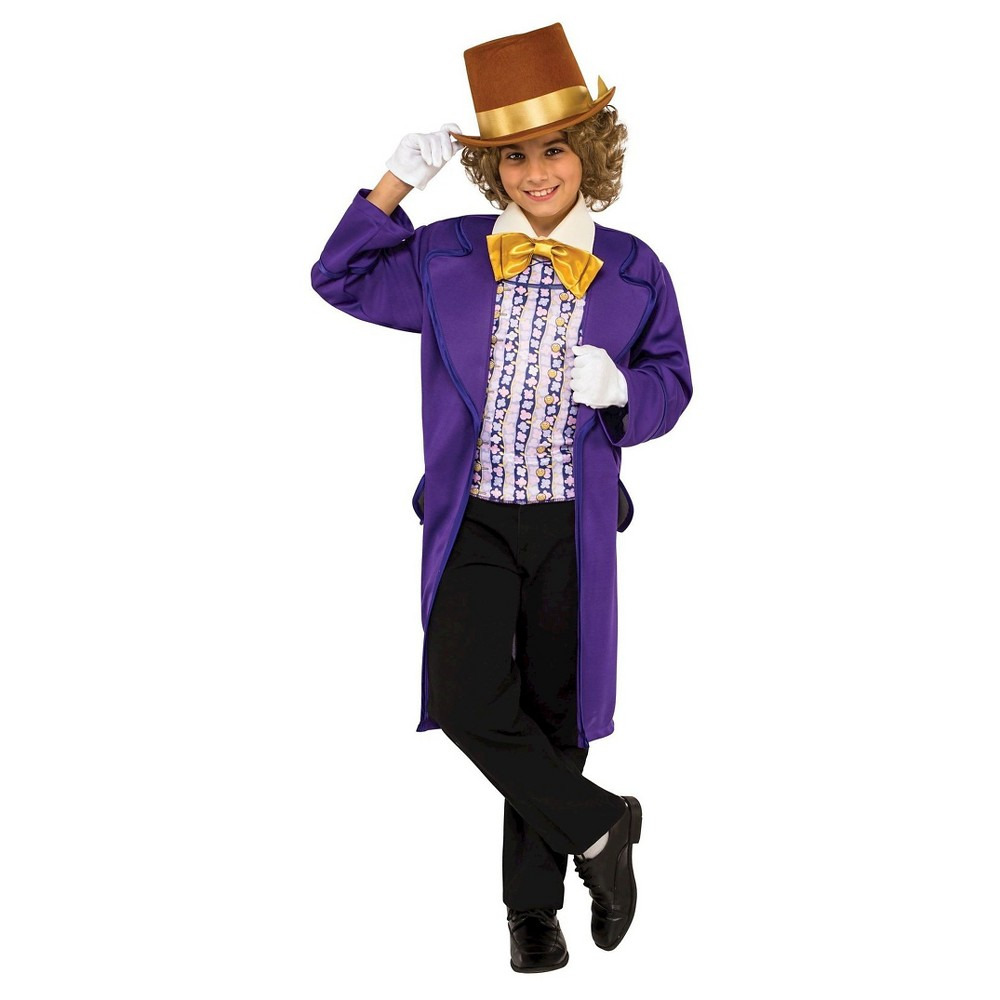 Best Shopping Willy Wonka The Chocolate Factory Classic Kids Costume Small Boy Size S4 6 Multicolored