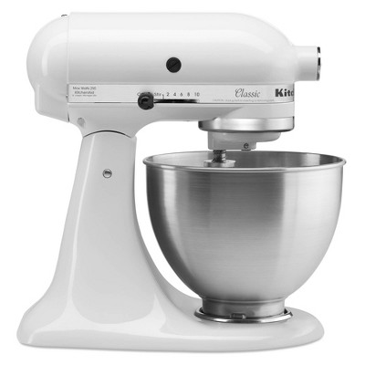 KitchenAid Classic Plus 4.5qt Stand Mixer - White