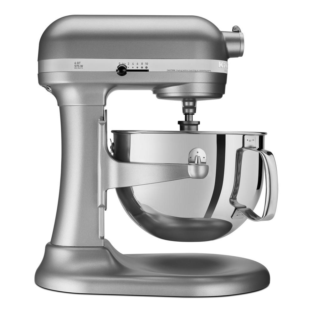 KitchenAid Refurbished Professional 600 Series 6qt Bowl-Lift Stand Mixer Silver - RKP26M1XSL