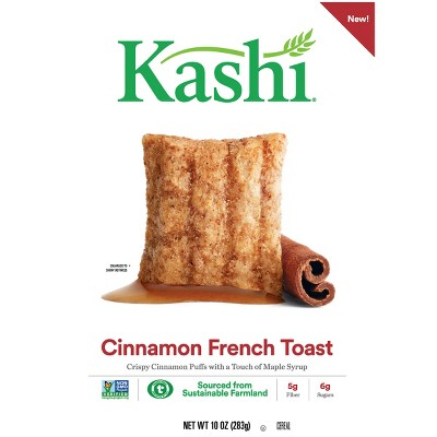 Breakfast Cereal: Kashi Cinnamon French Toast