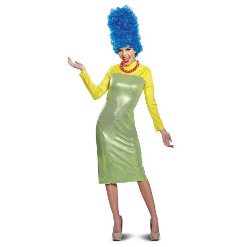 The Simpsons Adults' Marge Simpson Deluxe Halloween Costume - Disguise - image 1 of 1