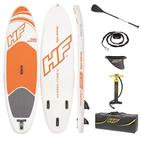 Bestway Hydro Force Inflatable 9 Foot Aqua Journey SUP Stand Up Paddle Board - image 1 of 6