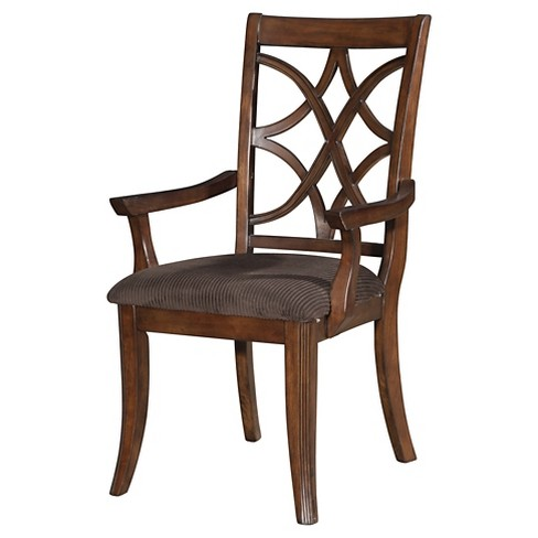 Magnificent Keenan Arm Dining Chair Wood Dark Walnut Set Of 2 Acme Onthecornerstone Fun Painted Chair Ideas Images Onthecornerstoneorg