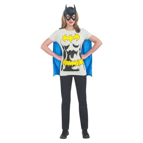 a0bcf67e73c2 Women's Batgirl T-Shirt Adult Costume : Target