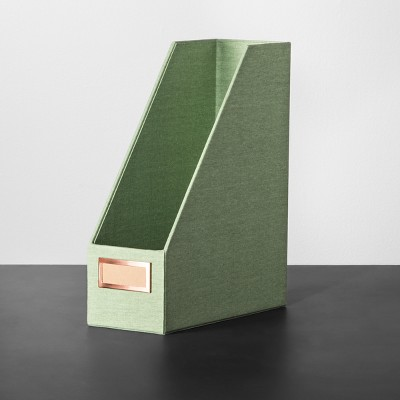 Magazine File Holder - Fun Sage - Hearth & Hand™ with Magnolia