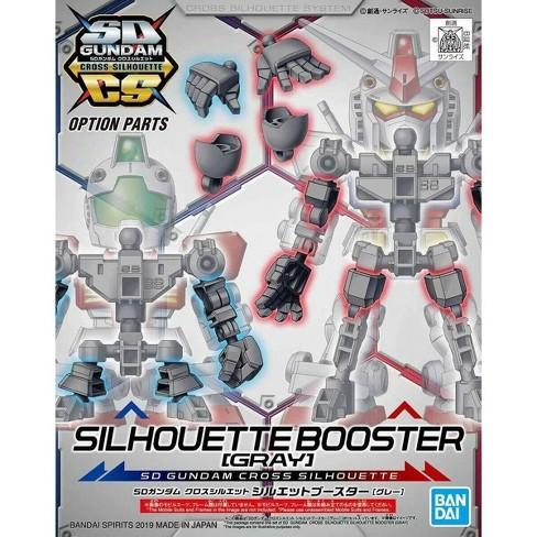 Bandai Hobby SDCS Gundam Cross Silhouette Booster Gray SD Model Kit - image 1 of 3