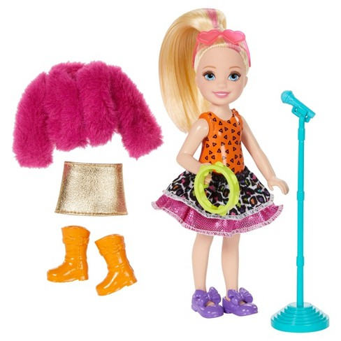 Barbie and the Rockers Chelsea Doll Tambourine and Fashion Giftset - image 1 of 2