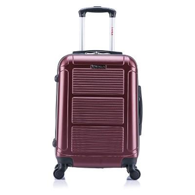 InUSA Pilot 20  Hardside Spinner Suitcase - Wine