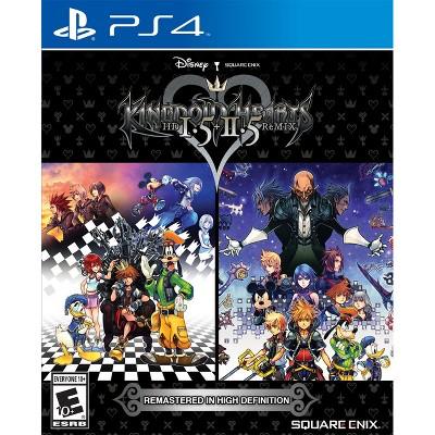 Kingdom Hearts 1.5 + 2.5 ReMIX PlayStation 4