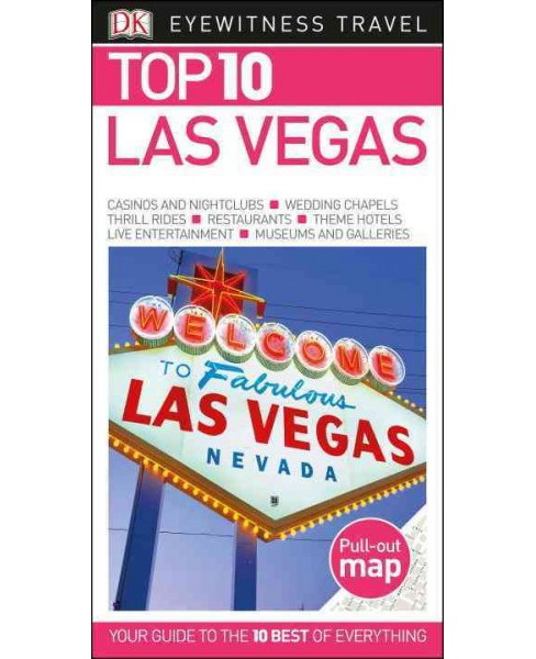 Dk Eyewitness Top 10 Las Vegas (Paperback) (Connie Emerson) - image 1 of 1