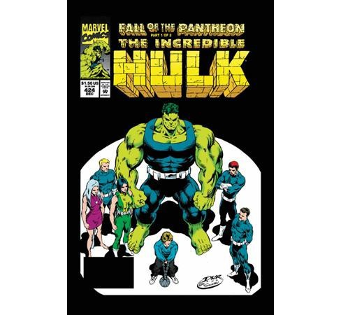 Epic Collection Incredible Hulk  21 : Fall of the Pantheon -  by Peter David (Paperback) - image 1 of 1