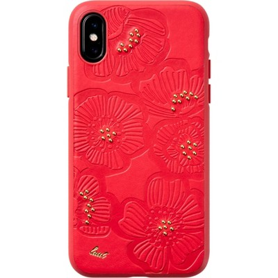 LAUT Apple iPhone XS Max Flora Case - Red