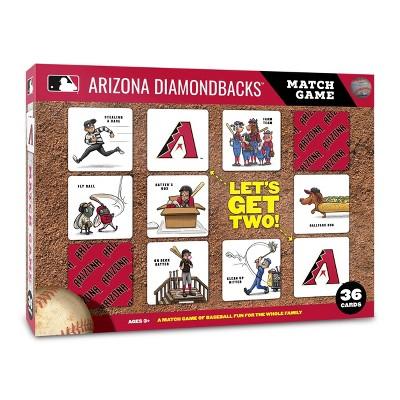 MLB Arizona Diamondbacks Memory Match Game