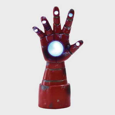 Iron Man Arm Table Lamp Red