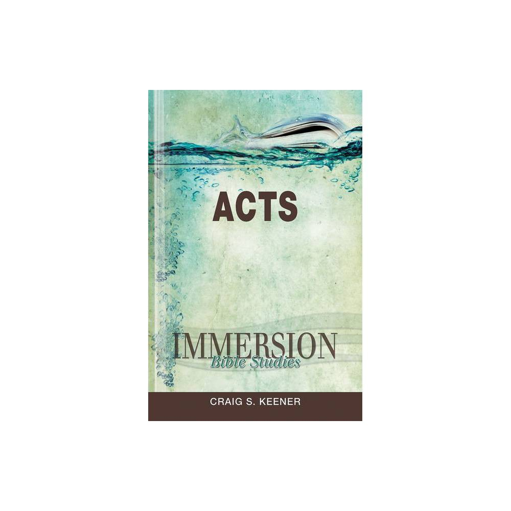 Immersion Bible Studies Acts Paperback