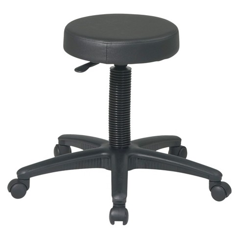 Drafting Stool Black - Office Star - image 1 of 1