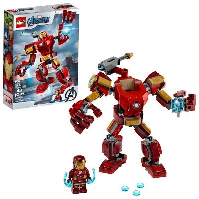 LEGO Marvel Avengers Iron Man Mech Kids' Superhero Mech Figure 76140