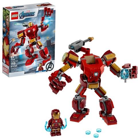 LEGO Marvel Avengers Iron Man Mech 76140 Kids' Superhero Mech Figure - image 1 of 4