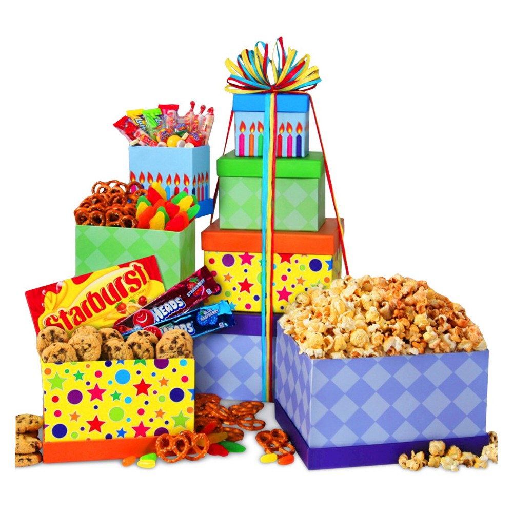 Happy Birthday Gourmet Tower