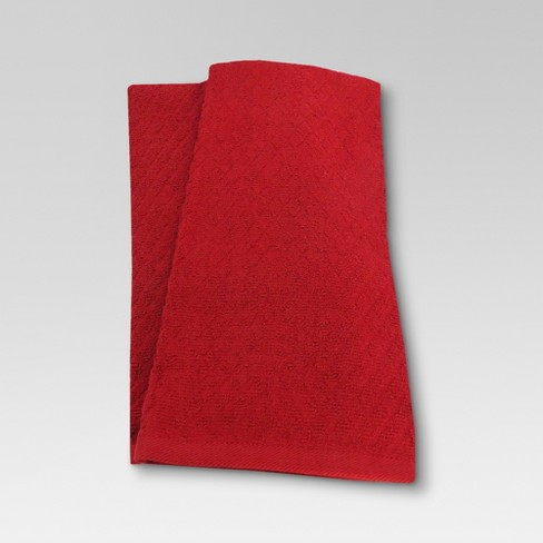 2pk Red Kitchen Towel - Threshold™ - image 1 of 1